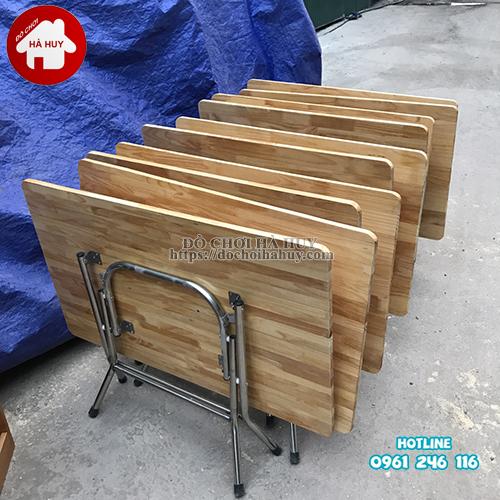 bàn-gỗ-mầm-non-chân-gấp-inox-1