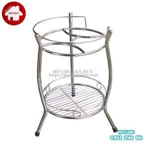 Giá để bình đựng nước, bình ủ nước inox HD1-004