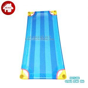 Giường lưới chân tròn cho bé mầm non HC1-014