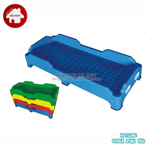 Giường ngủ nhựa cho bé mầm non HC1-017