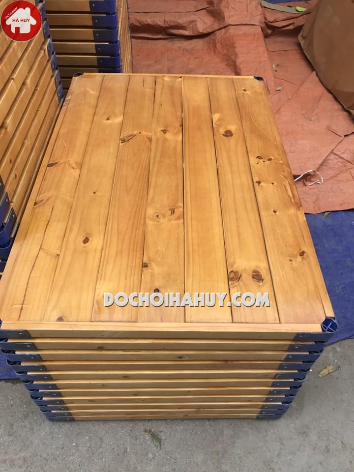 Phản gỗ cho bé mầm non HC1-016-3