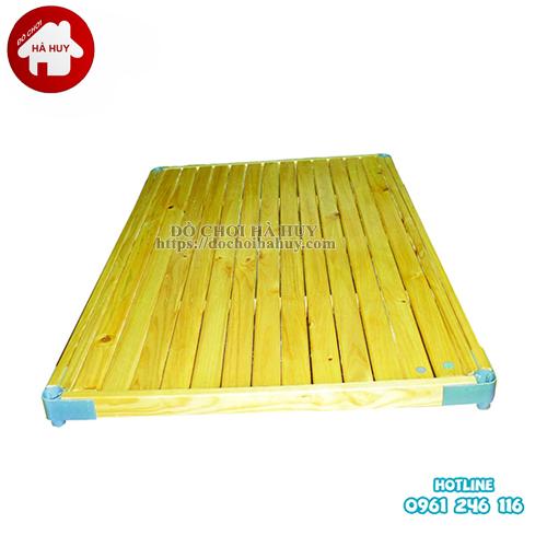 Phản gỗ cho bé mầm non HC1-016