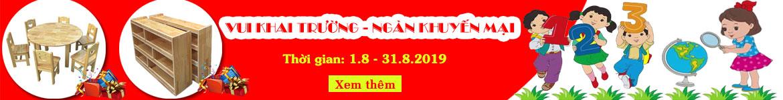 Chương trình khuyến mại tháng 8.2019