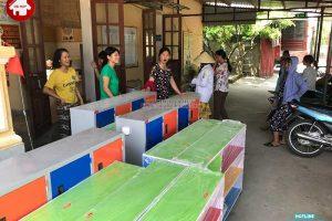 Sản xuất bàn giao nội thất mầm non cho khách tại Mỹ Đức, Hà Nội