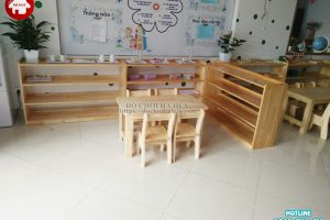 Bàn giao sản phẩm nội thất mầm non ở Hà Nội