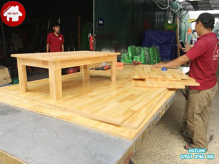 Xưởng sản xuất bàn ghế mầm non giá rẻ ở Hà Nội