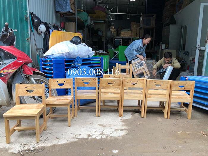Xưởng sản xuất bàn ghế mầm non uy tín ở Hà Nội