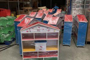 Nơi sản xuất và bán các loại tủ kệ mầm non gỗ MDF chất lượng giá rẻ ở Hà Nội