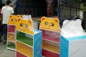 Sản xuất bàn giao tủ kệ mầm non và giá đồ chơi ở Thanh Hóa